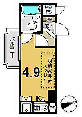 マンション(建物一部)-京都市下京区富永町 南向きだから陽当たり良好