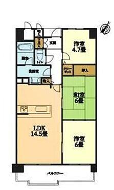 マンション(建物一部)-神戸市西区池上1丁目 ファミリー向けの間取り