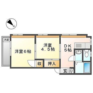 マンション(建物全部)-川崎市幸区下平間 101号室間取り