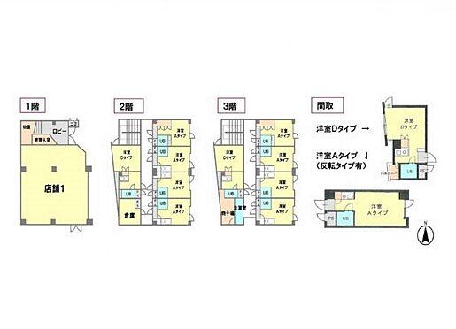 マンション(建物全部)-西宮市熊野町 間取り
