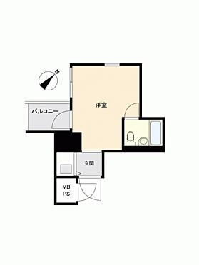 中古マンション-神戸市中央区古湊通1丁目 間取り