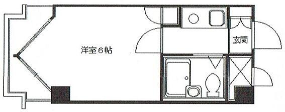 区分マンション-京都市中京区姉西洞院町 単身者向けのシンプルな1K