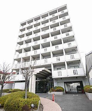 区分マンション-京都市右京区西院清水町 表には公園があります