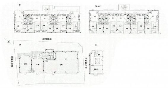 マンション(建物全部)-杉並区宮前4丁目 間取り