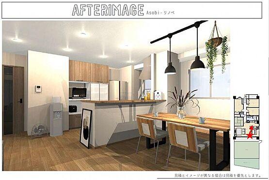 区分マンション-名古屋市中川区助光2丁目 【LDKリノベーションプラン】価格700万円プラン。お客様のご要望に応じてプランのご提案をいたします。