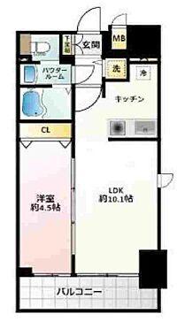 マンション(建物一部)-大阪市西区立売堀4丁目 間取り