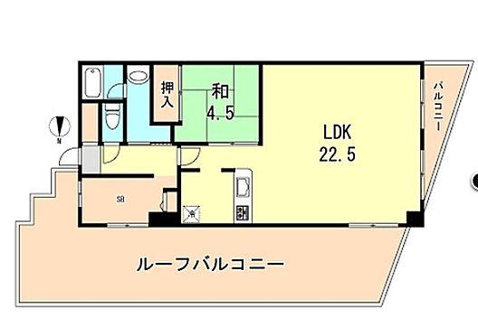 マンション(建物一部)-神戸市兵庫区里山町 間取り