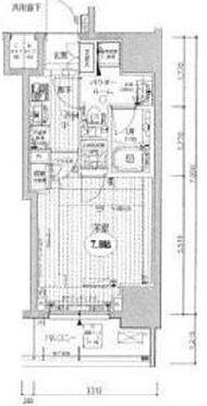 マンション(建物一部)-港区芝4丁目 間取り