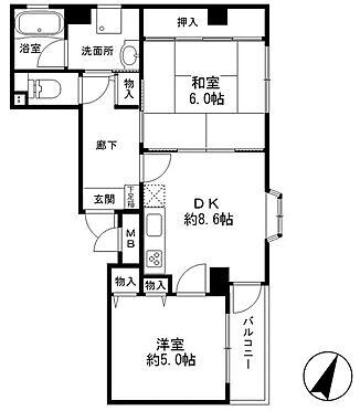 マンション(建物一部)-神戸市中央区八雲通1丁目 間取り