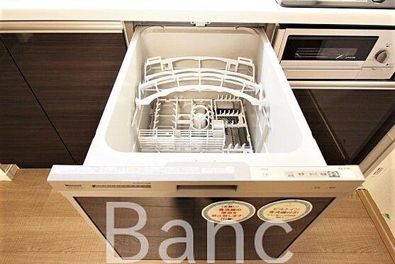中古マンション-新宿区愛住町 キッチン食洗器