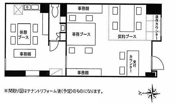 店舗事務所(建物一部)-板橋区徳丸4丁目 間取り