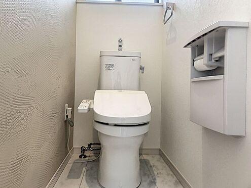 中古一戸建て-半田市亀崎高根町2丁目 2階トイレです