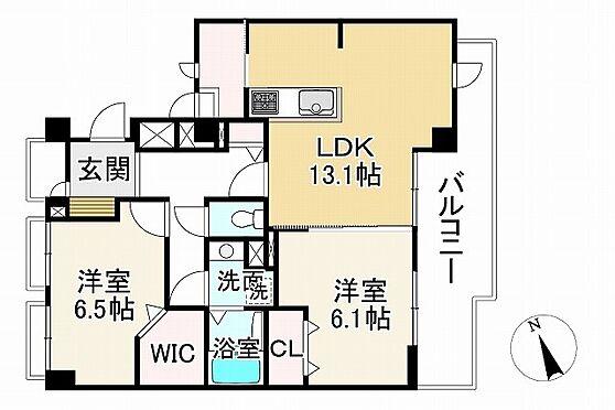 中古マンション-神戸市垂水区五色山8丁目 間取り