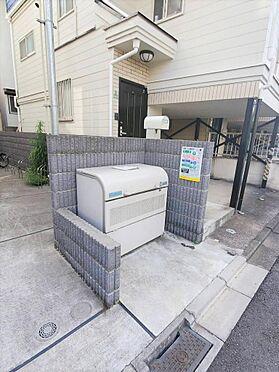 一棟マンション-世田谷区中町5丁目 敷地内ゴミ置場