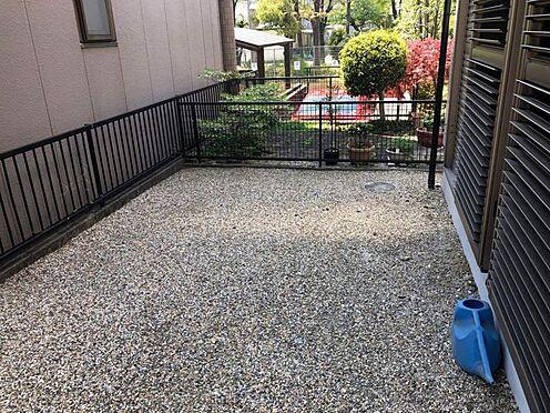 中古一戸建て-名古屋市名東区引山1丁目 庭 砂利敷のお庭で趣味が楽しめます