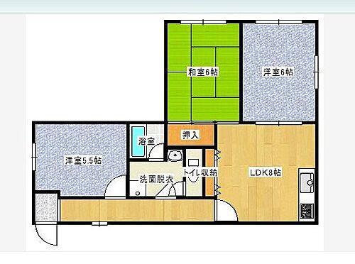 マンション(建物全部)-神戸市垂水区本多聞1丁目 間取り