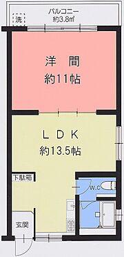 マンション(建物一部)-神戸市北区緑町2丁目 スクリーンパーティションなど採用したおしゃれな室内