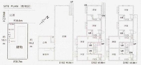一棟マンション-横浜市鶴見区北寺尾2丁目 間取り