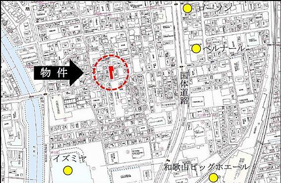 アパート-和歌山市吹屋町3丁目 地図