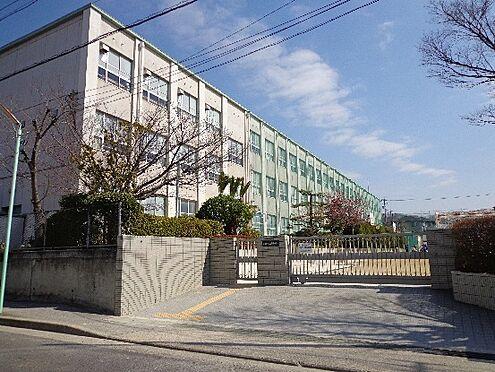 土地-名古屋市名東区極楽4丁目 高針台中学校まで徒歩約7分(約550m)