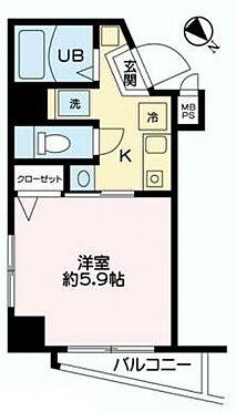 マンション(建物一部)-大田区矢口1丁目 間取り