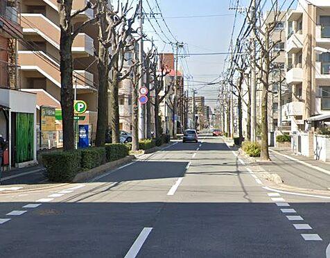 区分マンション-福岡市南区大楠3丁目 前面道路写真。