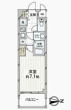 マンション(建物一部)-大阪市中央区島之内1丁目 間取り