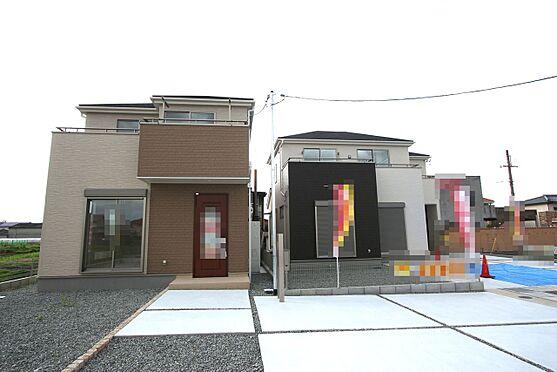 戸建賃貸-大和高田市大字吉井 開発分譲地内にあり前面道路幅は約6m。大型車でもスムーズに出し入れできます。とっても静かな環境です