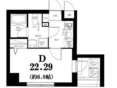 マンション(建物一部)-横浜市神奈川区反町1丁目 間取り