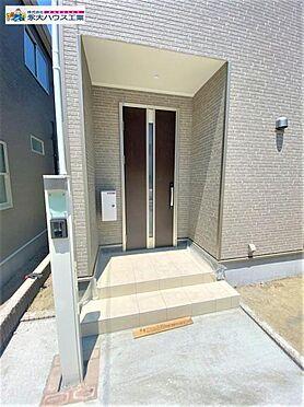 新築一戸建て-仙台市宮城野区鶴ケ谷6丁目 玄関