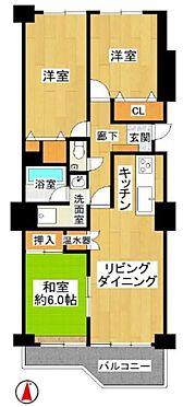 中古マンション-名古屋市名東区上社2丁目 3LDKでご家族のプライベート空間も確保できます。