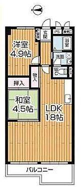 中古マンション-大阪市城東区永田2丁目 間取り