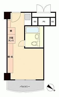 マンション(建物一部)-中央区月島3丁目 間取り