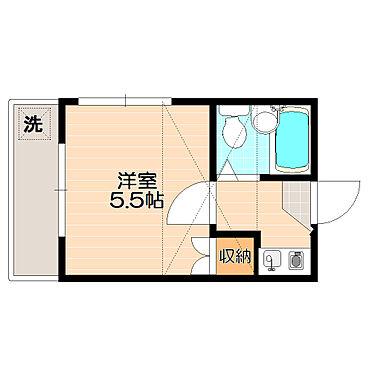 アパート-世田谷区羽根木2丁目 間取り