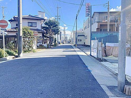 新築一戸建て-名古屋市昭和区折戸町3丁目 前面道路