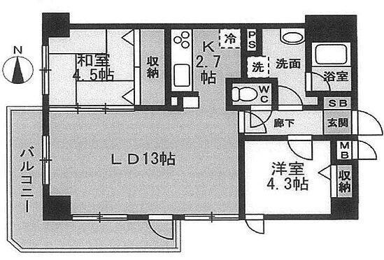 マンション(建物一部)-葛飾区西亀有3丁目 間取り