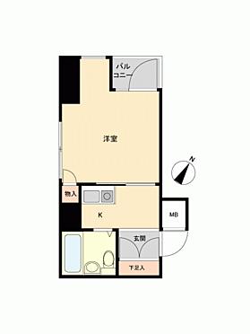 マンション(建物一部)-横浜市中区山田町 間取り