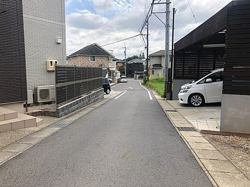 中古一戸建て-豊田市花園町新田 前面道路です
