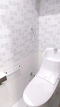 中古マンション-渋谷区西原2丁目 2018年2月新規リフォーム済みのトイレ。・掲載の家具、調度品は販売価格に含まれません。