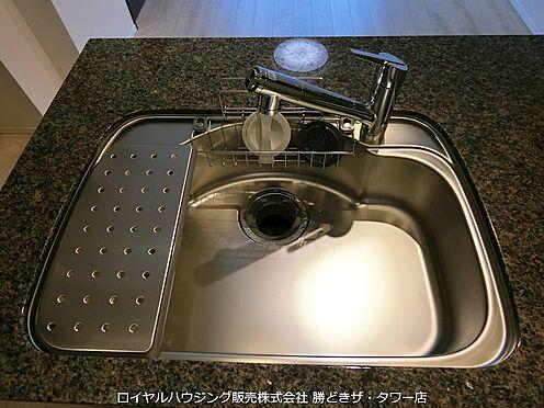 中古マンション-江東区有明2丁目 浄水カートリッジ内蔵のシングルレバーシャワー水栓