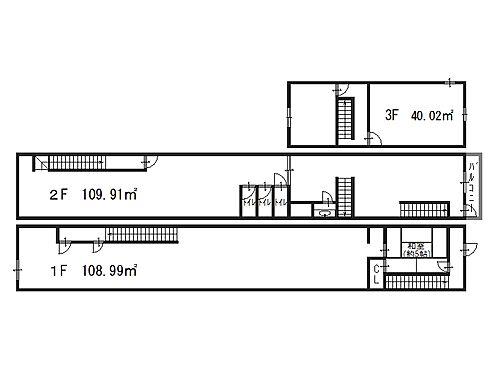 店舗(建物全部)-大阪市北区天神橋3丁目 間取り