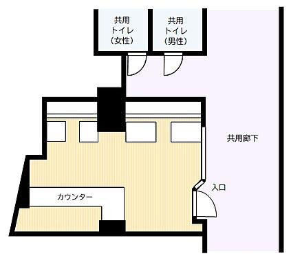 店舗(建物一部)-世田谷区宮坂3丁目 間取り