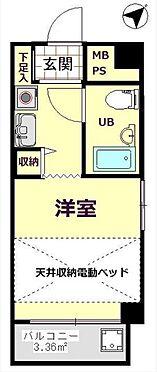 マンション(建物一部)-横浜市神奈川区神奈川2丁目 当物件の間取り図です。