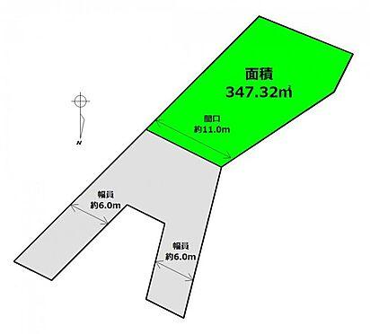 土地-柴田郡川崎町支倉台1丁目 区画図