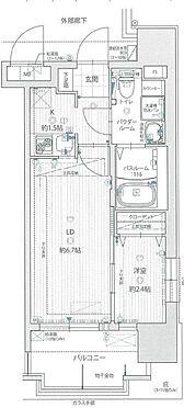 マンション(建物一部)-福岡市東区箱崎1丁目 間取り