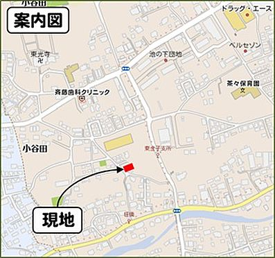 アパート-入間市大字小谷田 地図
