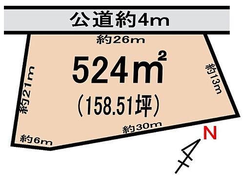 土地-牛久市桂町 区画図