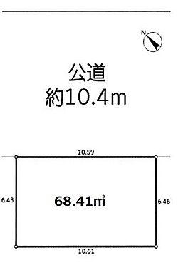 土地-さいたま市南区白幡4丁目 区画図