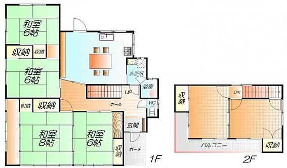 中古一戸建て-仙台市太白区西の平1丁目 間取り