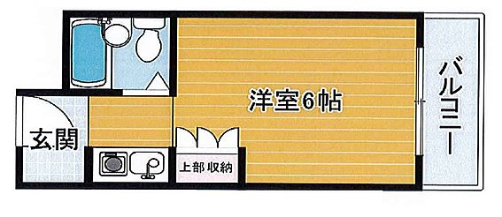 マンション(建物一部)-神戸市東灘区深江本町1丁目 東向きのワンルーム